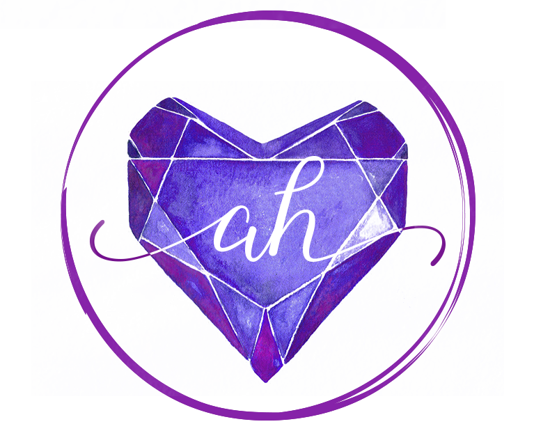 Amber Heart Website Logo