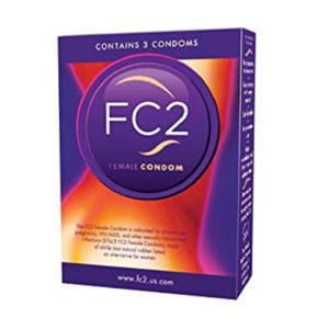 Female Condoms - FC2 3 Pack