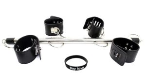 Couple Bondage Bar & Handcuffs Set